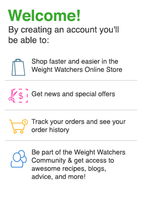 weight watchers online free sign up code